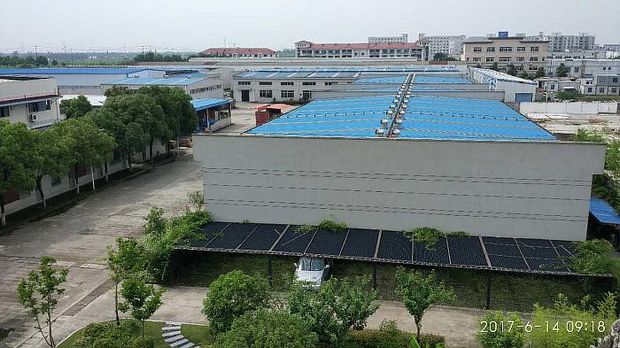 A8214 青浦朱家角镇工业园区40亩 15栋单层带行车厂房整体出售 价格面议