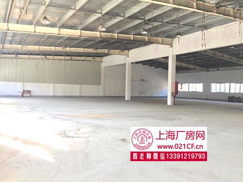G1422青浦赵巷 赵重公路1150平方米厂房仓库展厅出租 大场地
