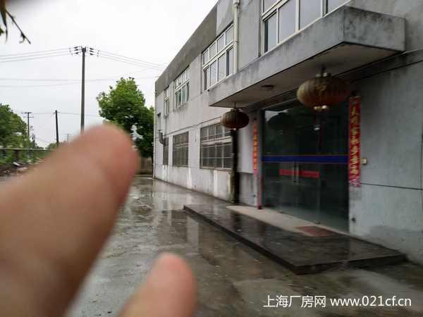 A8303 青浦区白鹤工业园区腾富路3400平方米独门独院厂房出租 可分割 另有6600平场地出租