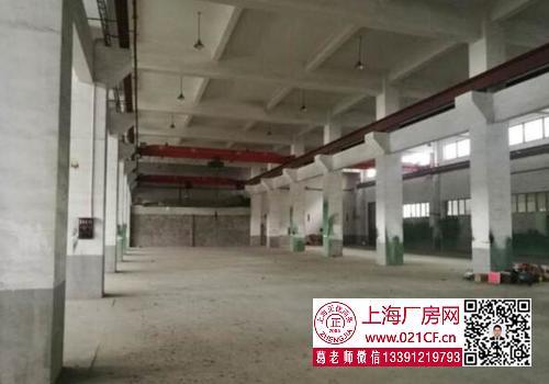 G1723 奉贤 柘林工业园 104地块 带行车5吨两部 机械 厂房仓库出租 可分割