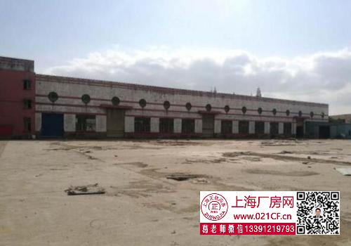G1728 奉贤 奉贤柘林工业园厂房仓库 带10吨行车 场地20亩 可进22米大车 出租