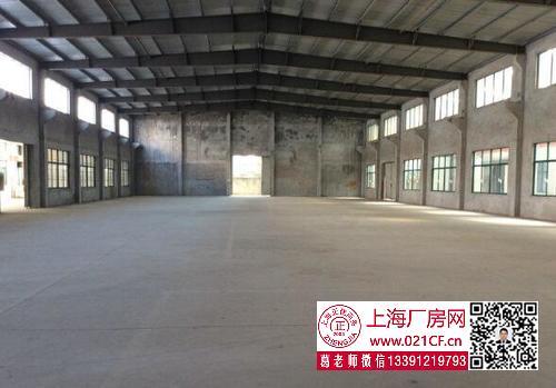 G1730 浦东 新场 500平厂房仓库出租 带牛角 可架行车 形象好