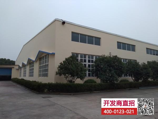 G1831 宝山工业园区内 罗店镇 104地块独院 9600平单层厂房仓库出租 可分割