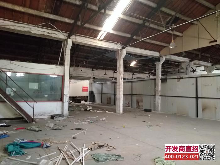 G1837宝山杨行地铁3号线宝杨路站附近宝杨路铁力路480平单层厂房仓库出租