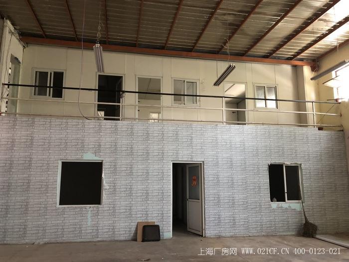 A8320 宝山城区地铁三号线(友谊路站)附近厂房仓库100-10000平可分割出租 配有复式办公