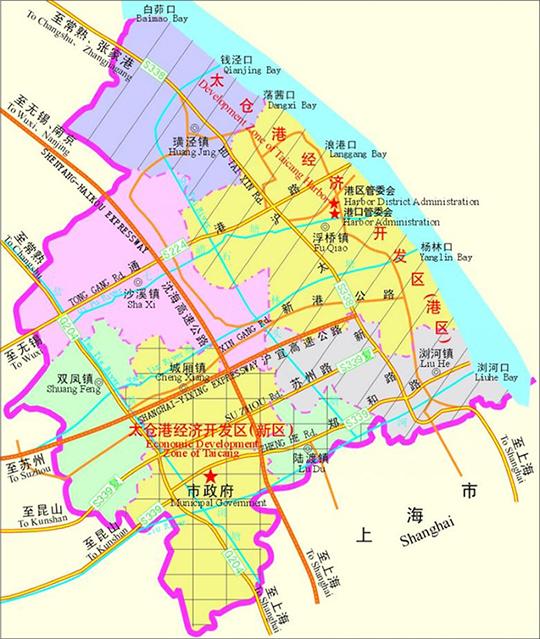 太仓高新区介绍 及土地招商 厂房出租