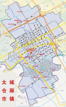 城乡镇行政区划图