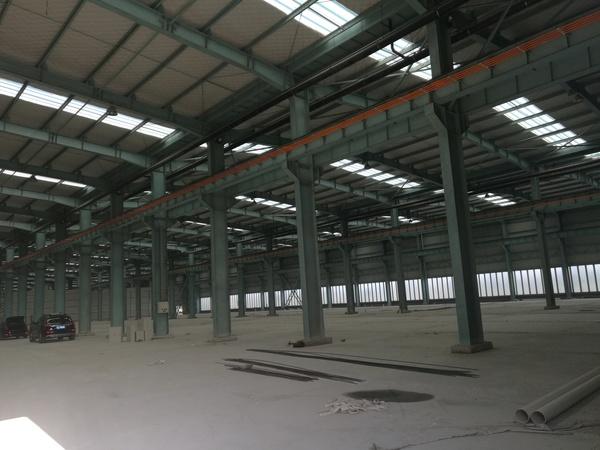 G1892苏州张家港占地13亩钢结构厂房6000平米 办公500平 整体出租 85万/年