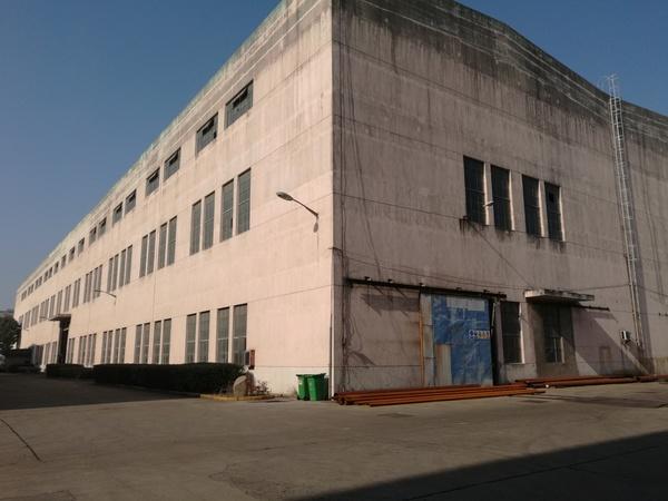 G1895苏州张家港2万平单层可装行车厂房出租 可分割出租
