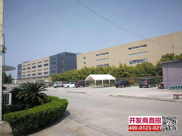 G1901 青浦 朱家角 原房东 104地块 3600平方米独栋单层厂房出租 1.3元 层高9米