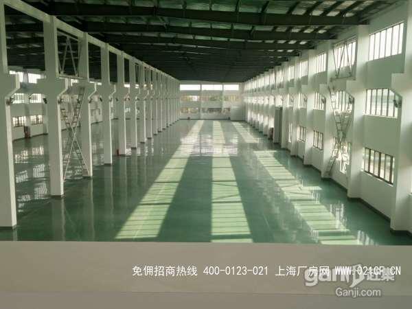 G1985 昆山千灯镇支浦路 独门独院标准混凝土火车头式厂房出租 2200平
