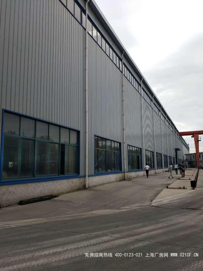 G2030 宝山杨行蕴川公路 11000平方米单层钢构厂房仓库出租