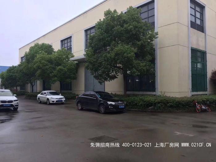 G2041浦东新场工业园 单层3500平方 带行车5吨两部 环氧地面 可分割