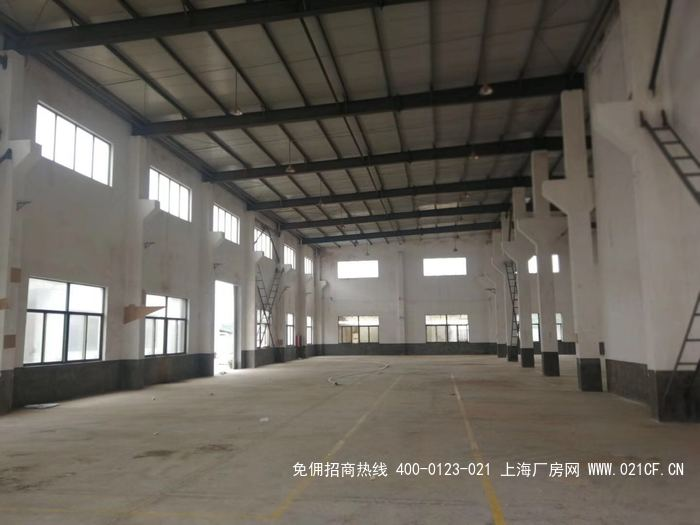 G2045 奉贤平庄东路单层可装行业厂房出租 2000平起租