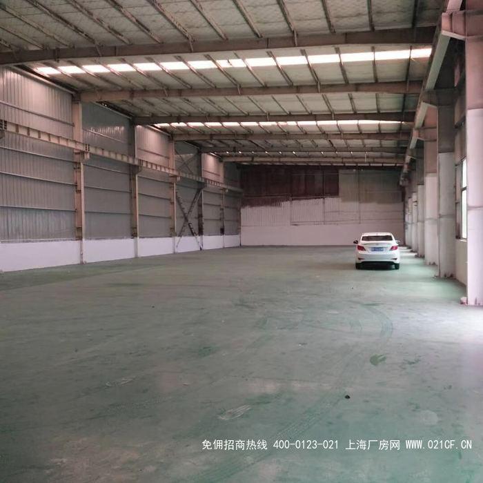 G2046 奉贤区西渡工业园区104板块绿证 600平、1100平方 单层厂房出租 无税收要求