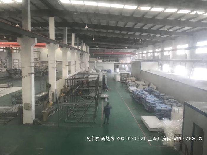 G2061奉贤柘林工业园区104地块 3000平独栋火车头厂房出租