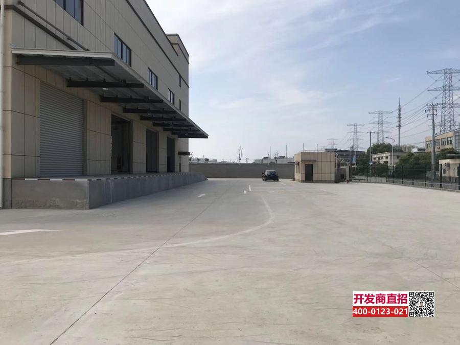 G2078 青浦工业园区新丹路 稀缺104地块 新建高平台仓库出租 双层合计8250平方米
