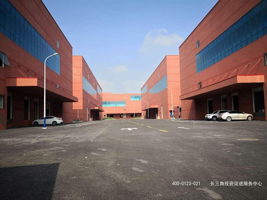 G2121 松江新桥新飞路 上海专业食品产业园 厂房出租 4000平起可分割出租  天燃气 生化池 双路电源