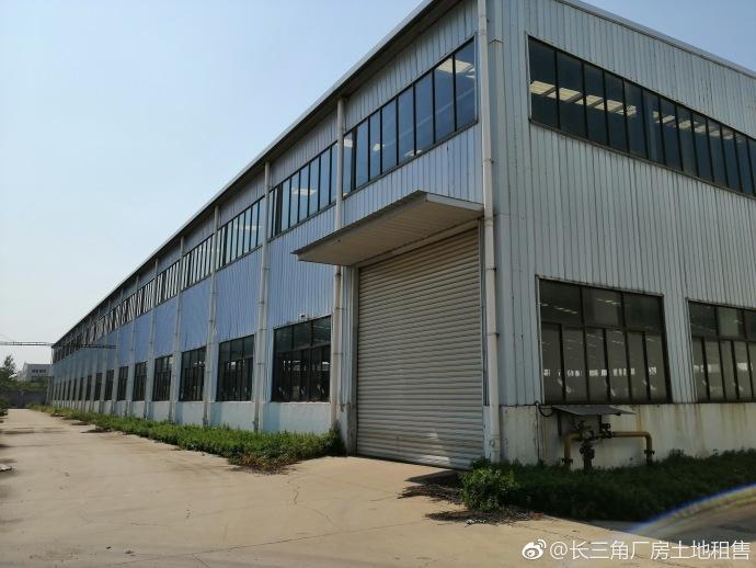 G2159 南京城市圈 来安汊河 地铁林场站十公里 15000平/栋共2栋 合计30000平米 单层可装行车厂房出租
