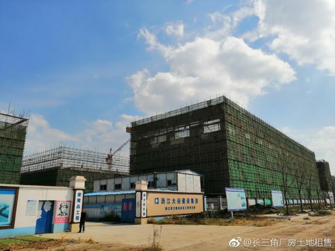 G2163 上海一小时车程 上海一百公里范围 湖州南浔 新建双层厂房厂房出租 每层7261平方米 底层高7.8米 可分租