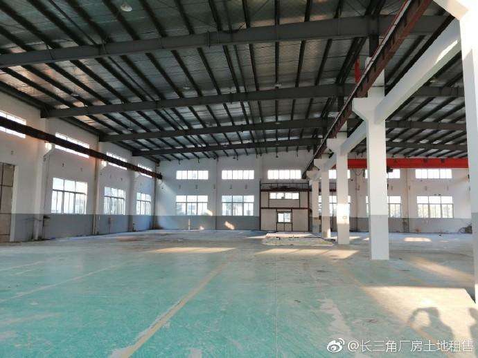 G2178 南京高淳 单层厂房2000平方米 已装5吨行车 精装办公楼400平 出租 价格优惠