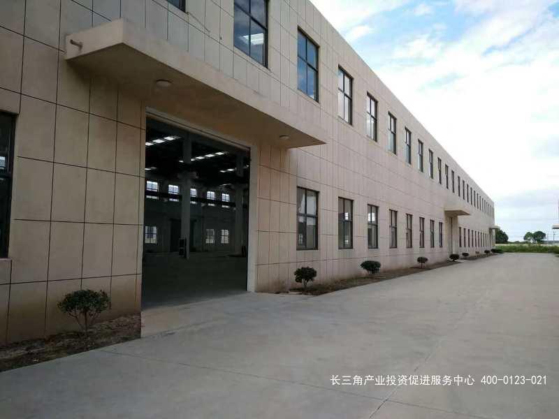 G2259 嘉兴市平湖广陈镇广陈工业区  5437平方米火车头式单层厂房出租 0.75元