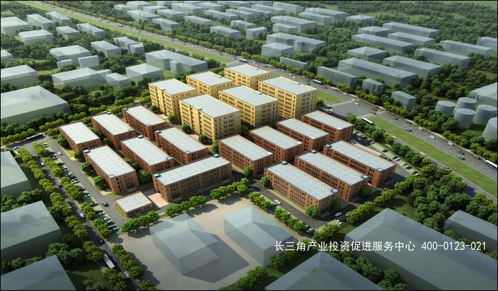 G2320 联东U谷-南京经开栖霞国际企业港 独栋大平层厂房出售 可分层 6500元/平