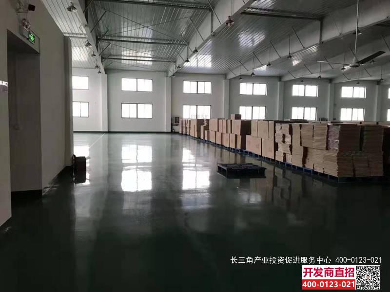 G2380 浦东三灶镇宣夏路104地块 5000平方米单层厂房 可分割出租