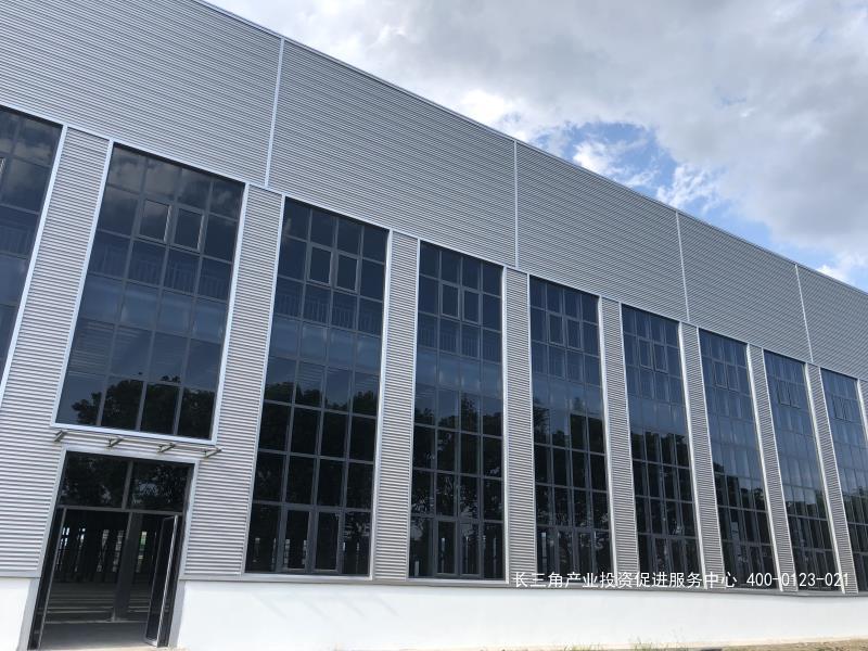 G2400南通国家级海门经济技术开发区滨江工业城内有数幢标准厂房出租 单层行车厂房