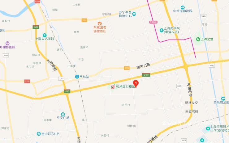 G2438 上海市奉贤区浦卫公路 独院3000平厂房办公楼出租  单层厂房 办公楼 宿舍出租