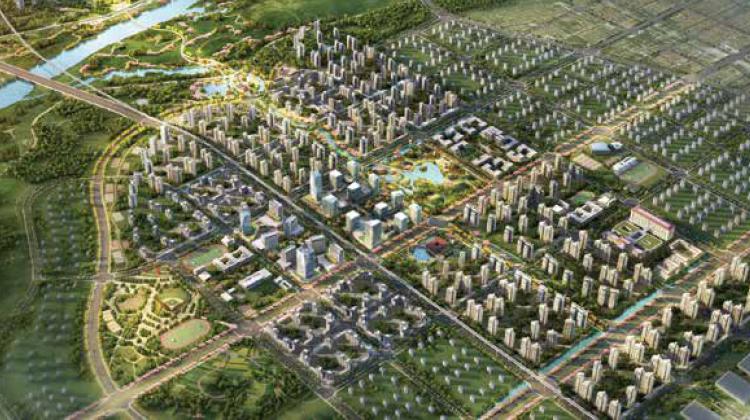 湖北武汉新洲区问津产业新城 工业用土地出售招商 厂房出租 政策优惠