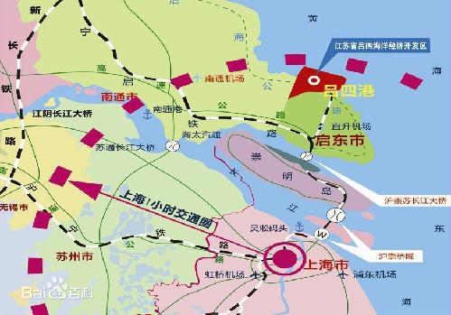江苏启东吕四港经济开发区 标准厂房出租 园区工业土地出售招商 17万/亩 上海一小时经济圈