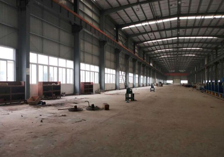 南京江宁将军大道40000方独门独院带行车单一层厂房出租 可分割