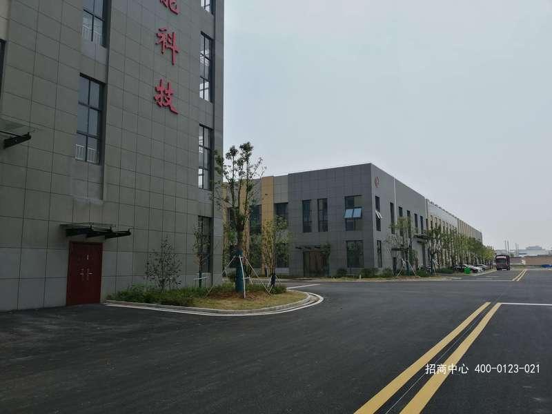 G2564 马鞍山政府自建标准厂房出租 园区仅余一栋 单层独栋6900平 整体出租 紧临南京浦口