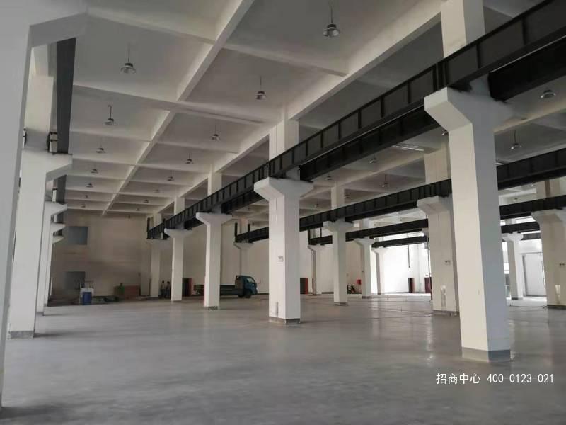 G2567 紧临南京浦口桥林工业区 马鞍山和县可装10吨行车 层高9米 2000-3000平厂房出租 7元/平/月