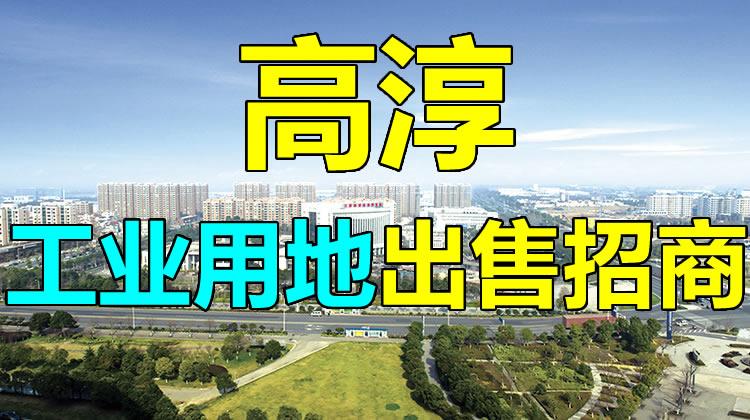 南京高淳工业用地出售招商 16万/亩 税收高0地价 上海苏州南京产业转移承接地