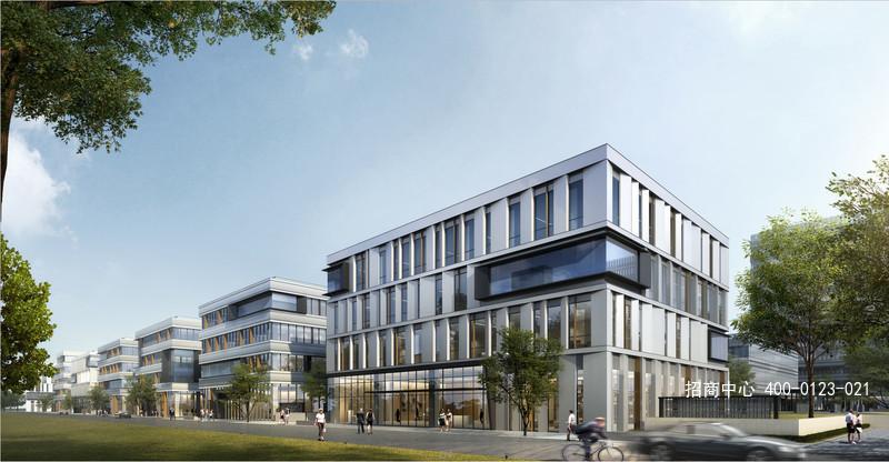 G2591 松江9号线松江新城站 独栋整层可拆分小户型 总部办公研发楼出售 1.4万/平