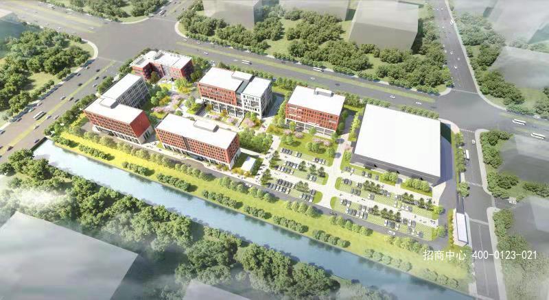 G2616 闵行区元江路中春路 独幢 多层标准厂房可分割出租 80平起租 花园式产业园区