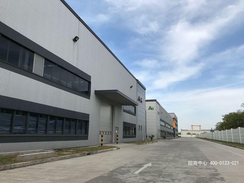 G2635 华平金山智造园 金山工业区 金舸路 单层厂房6800平含办公800平 层高11米 可架设10t行车 3400平起租