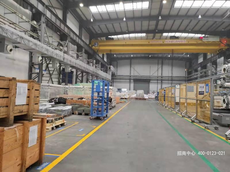 G2654 嘉兴海盐工业园区单层行车厂房出租 可分割出租  2000平起租