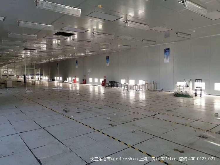 G2665 上海闵行莘庄工业区申南路1000平方米无尘GMP净化车间厂房出租