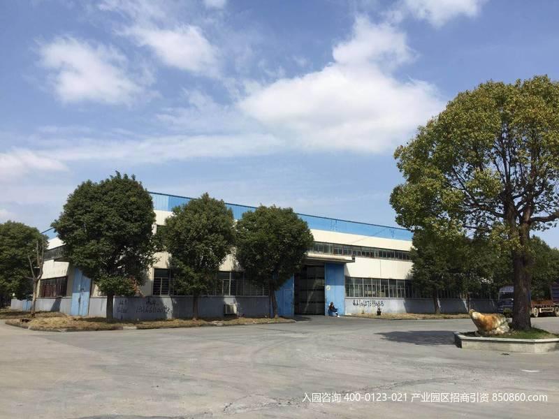 G2747上海金山区枫泾工业园区枫展路4768平方米单层厂房出租