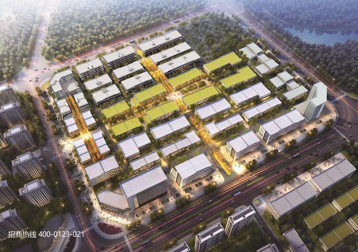 中南高科·潍坊鸢都汇智产业园 山东潍坊市经济技术开发区厂房研发办公楼出售