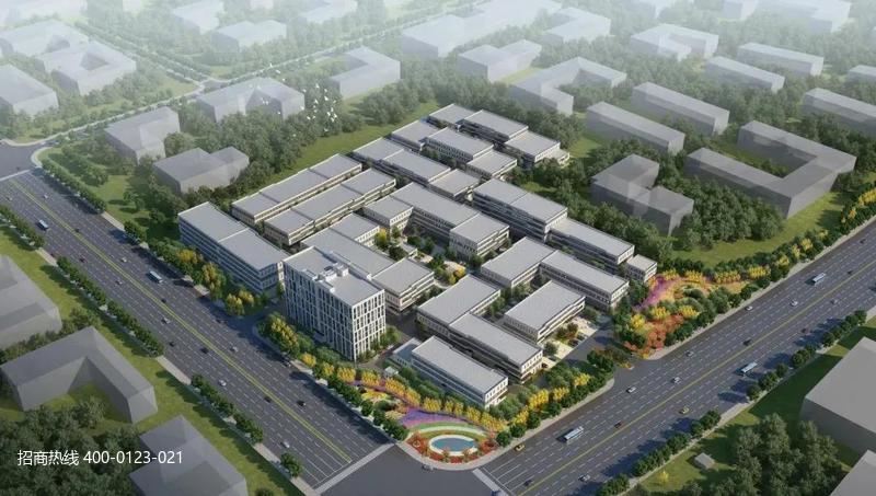 中南高科·台山智能装备产业园 广东江门台山厂房研发办公楼出售