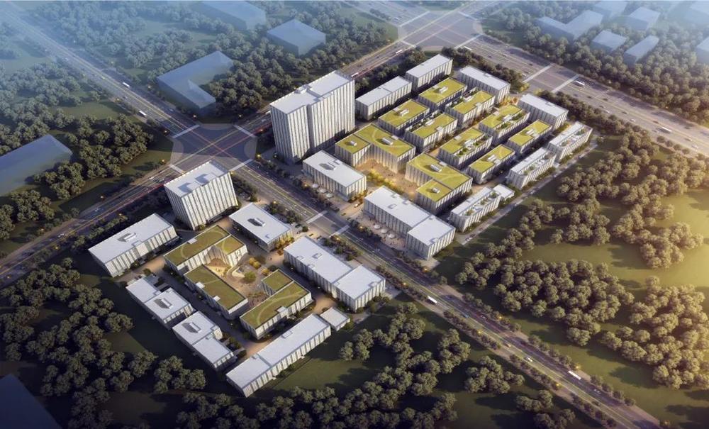 ?中南高科·西安高新产业智造中心 西安高新区中央创新区三层四层独栋厂房出售1200平起 多层研发厂房600平起出售