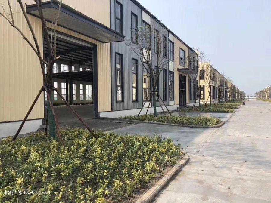 G2859雅创高科智能制造产业园无锡市宜兴市官林镇单层钢结构厂房出售12米层高24米跨度 50年国土产权