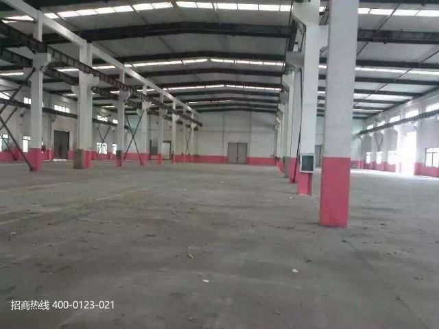 G2862 宝山顾村机器人产业园独门独院全单层厂房 8813平方米出租 带行车