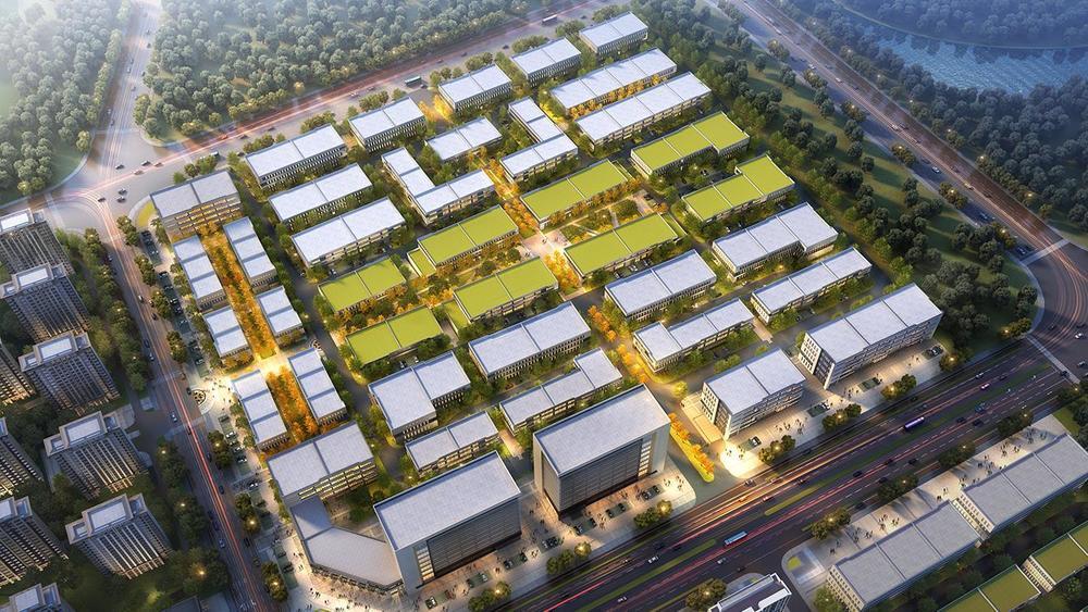 中南高科-鸢都汇智园产业园 山东潍坊市经济开发区 标准厂房出售 双层三层五层十层厂房出售 600平起售  可自由分割
