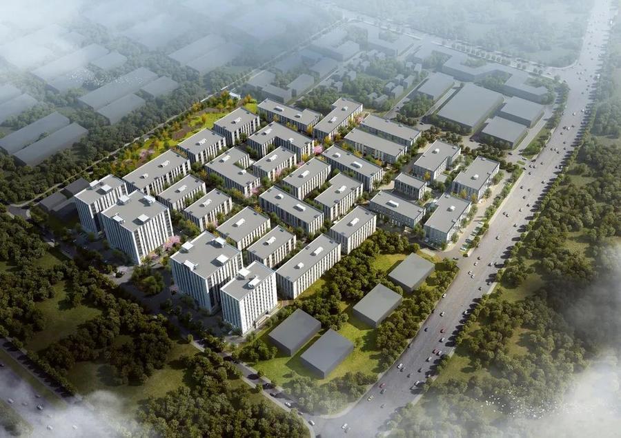 湖北武汉东西湖临空港开发区国家网安基地科创中心开发商一手标准厂房出售 500平起售 电子信息、智能制造