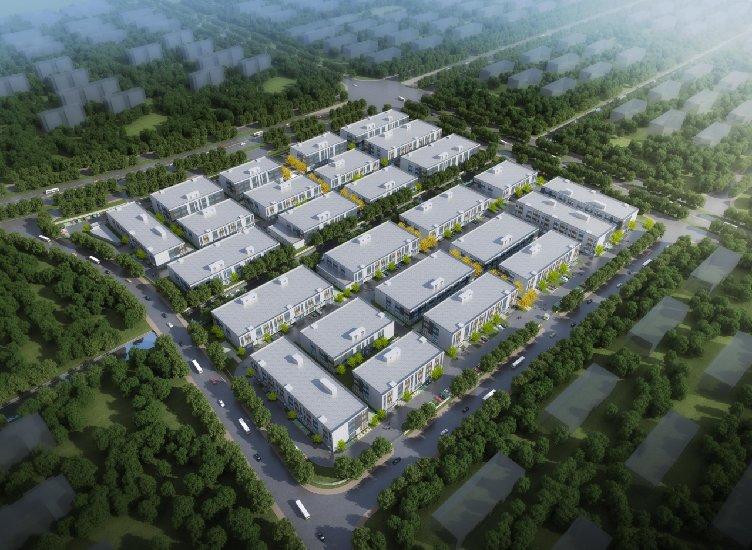 中南高科 南通 通州湾电子信息科技产业园 双层厂房出售招商 均价3000元/平 1600平起售